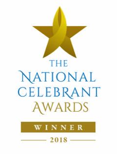 National Celebrant Award 2018 Winner